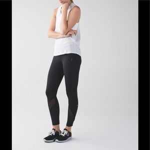 🌺Lululemon Inspire Tight ll black leggings